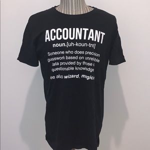Accountant T shirt for men *